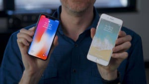 iPhone X or iPhone 8 Plus