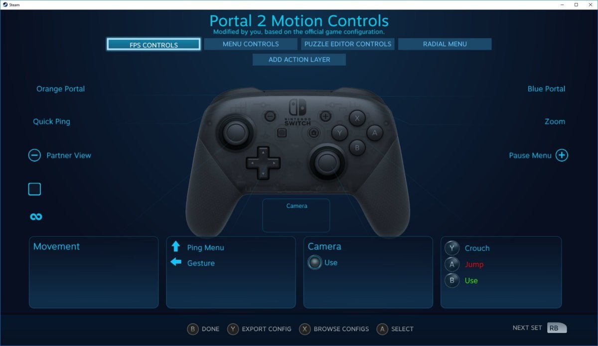 How to use the Nintendo Switch Pro controller with Steam on
