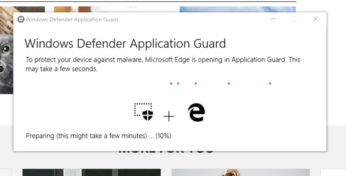 How Microsoft Edge's hidden WDAG browser lets you surf the web