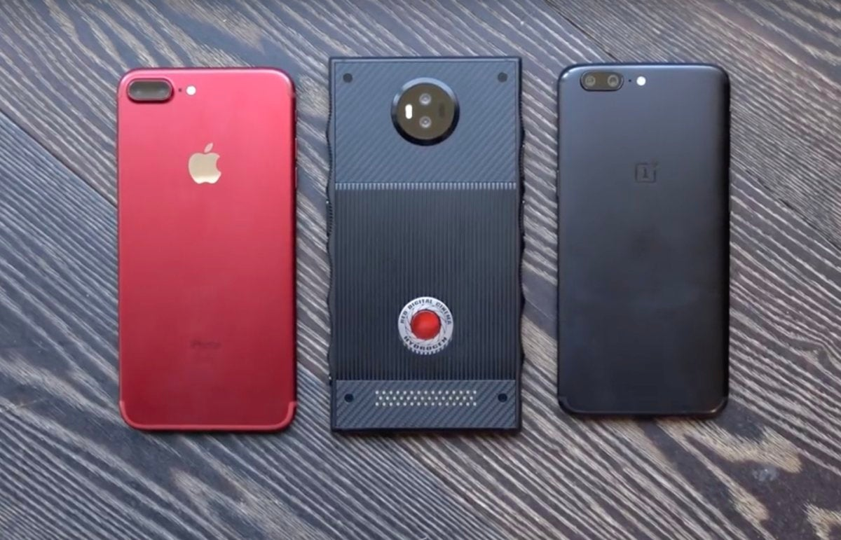 red hydrogen one compare