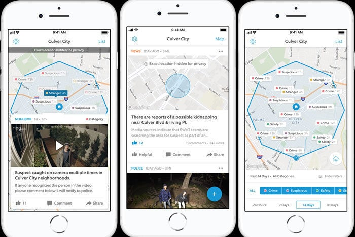 Ring modernizes the neighborhood watch with its Neighbors app