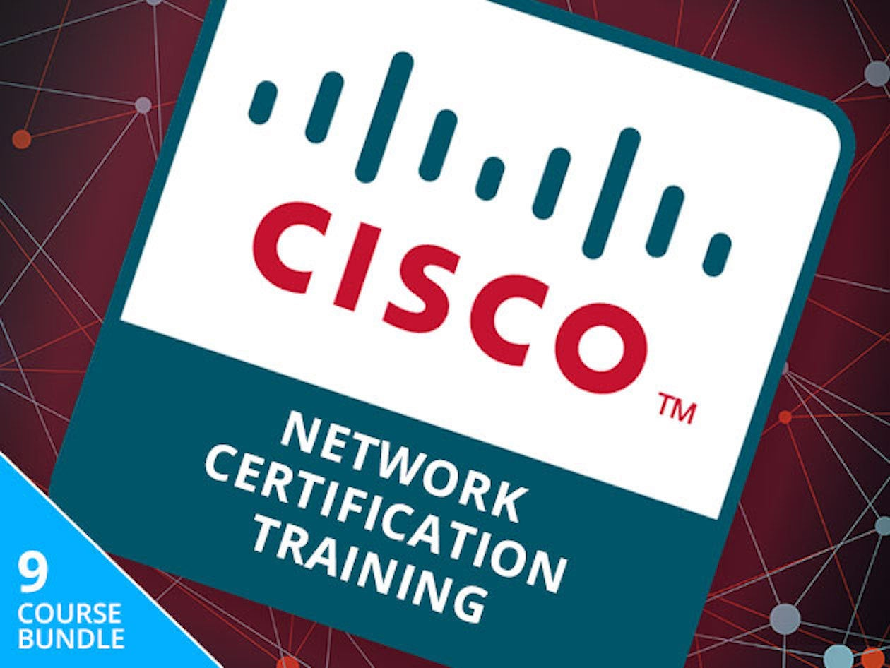 Save Hundreds On The Complete Cisco Network Certification Training