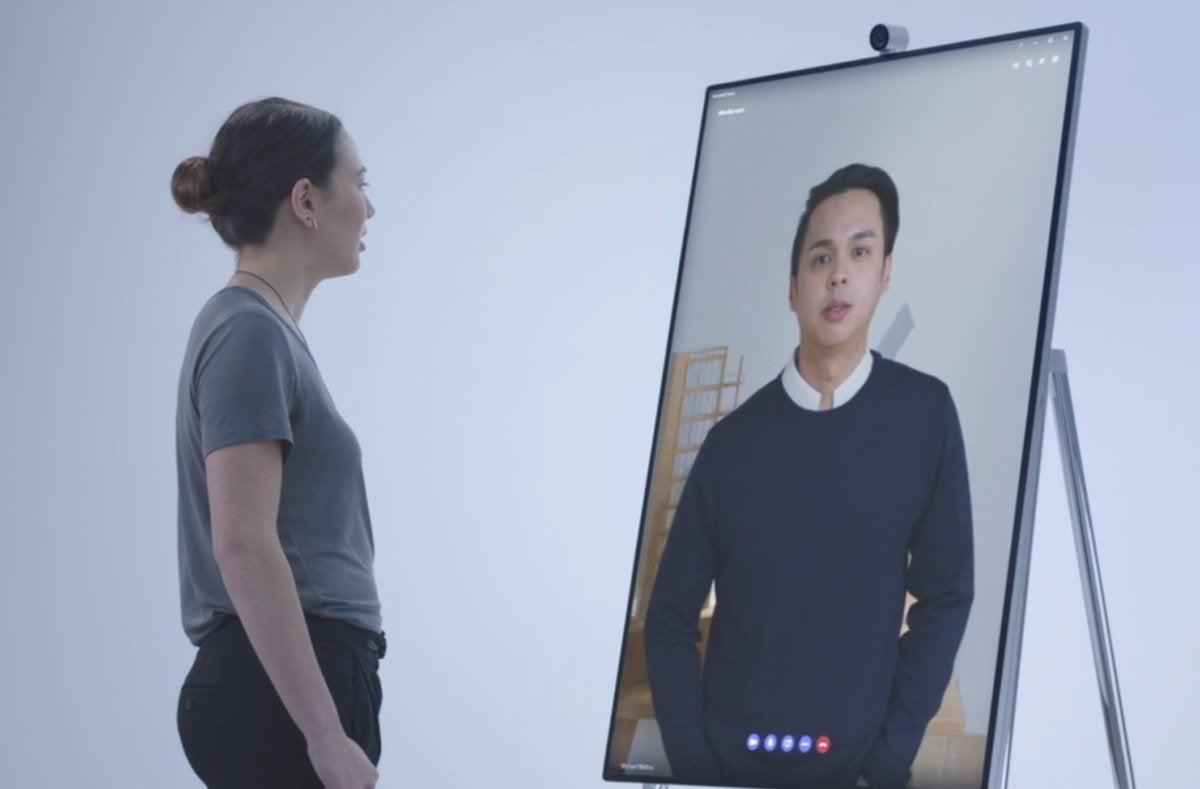 Microsoft Surface Hub 2 surface hub 2 skype