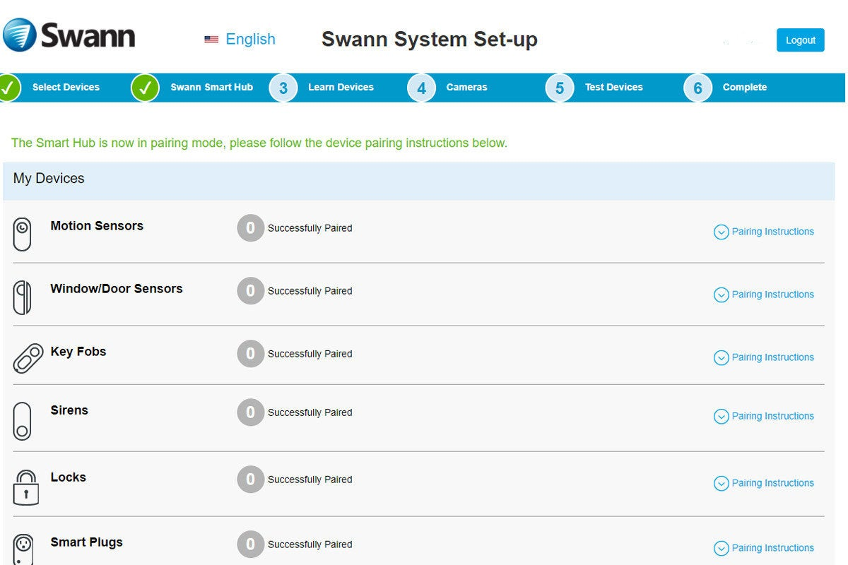 swann web browser ui