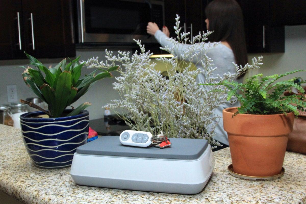 swannone smart hub key fob counter in situ