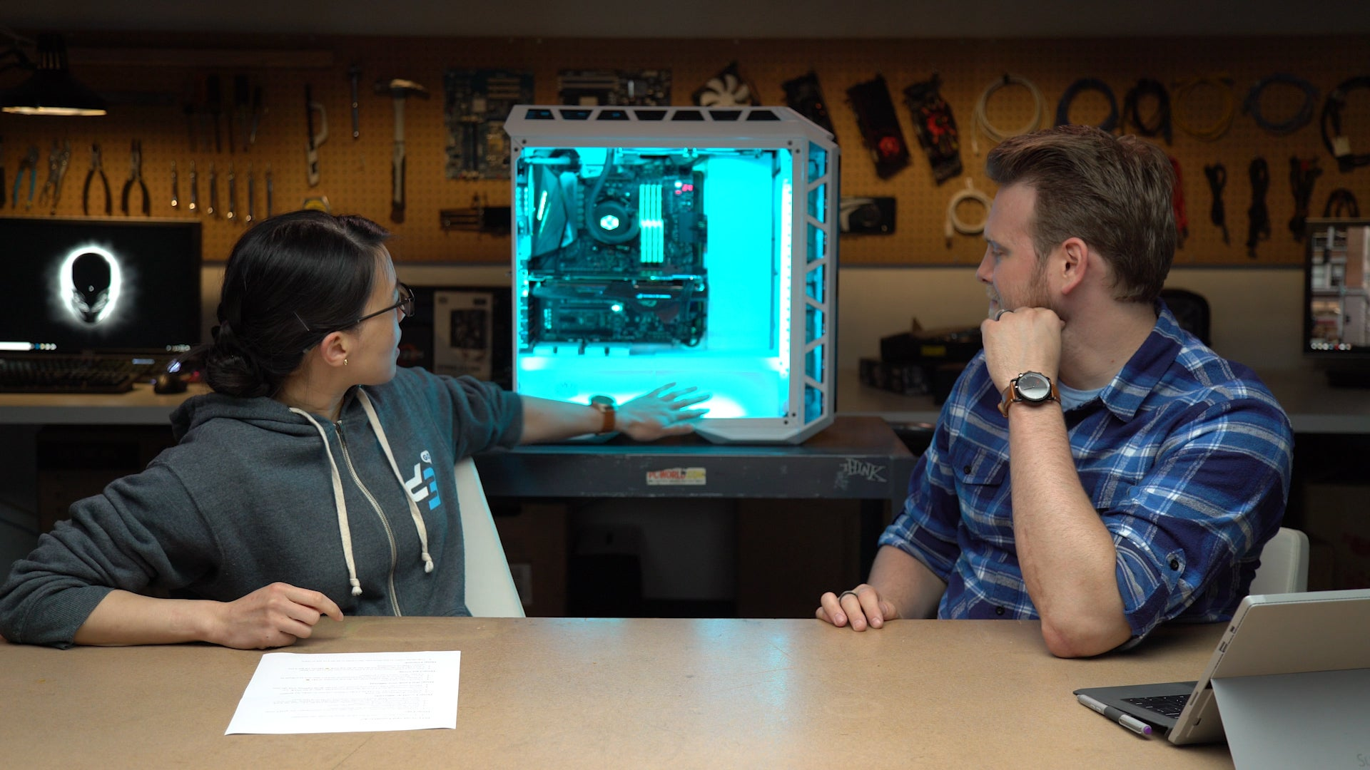 Watch us build an over-the-top RGB PC   PCWorld