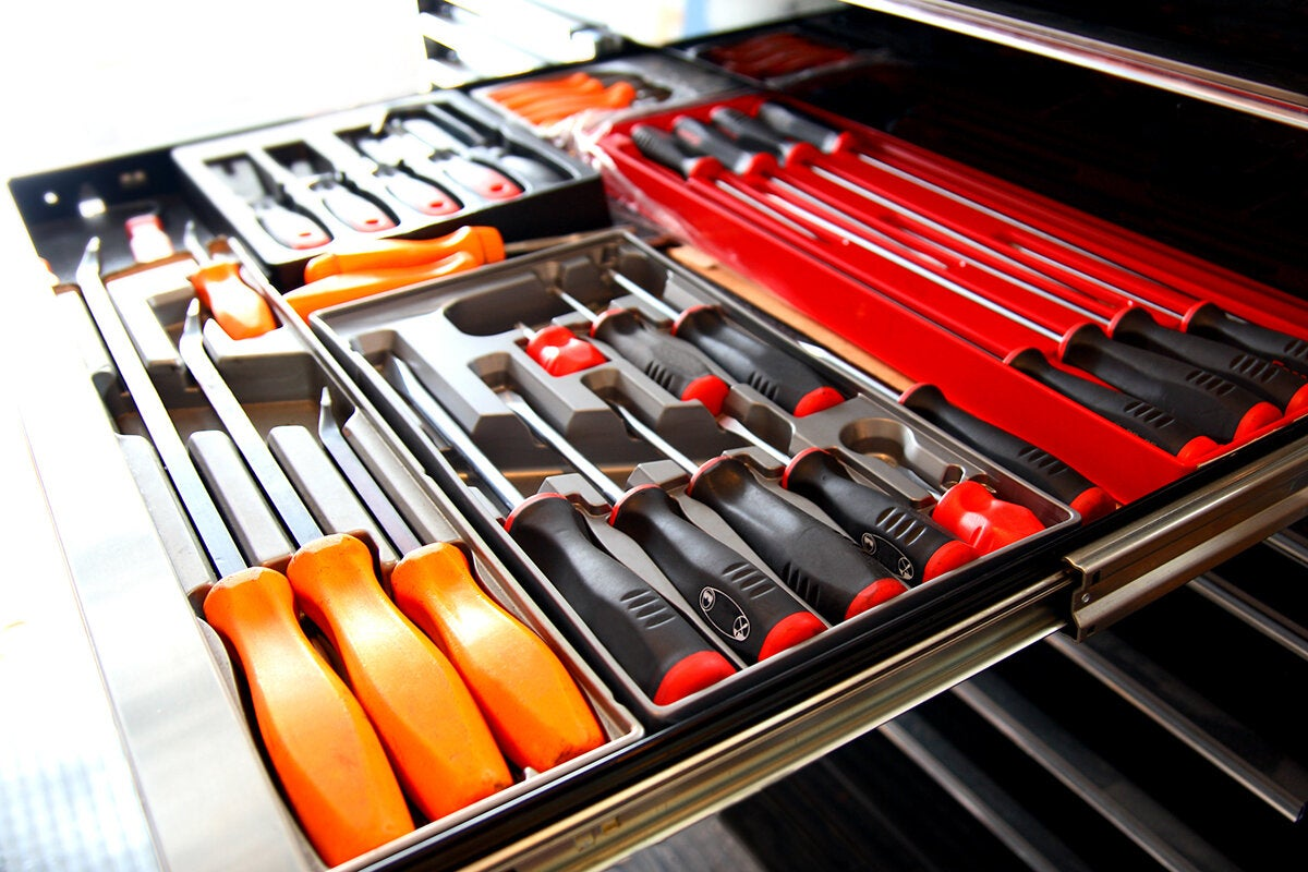 tools / toolkit / toolbox / screwdrivers to build, develop or repair