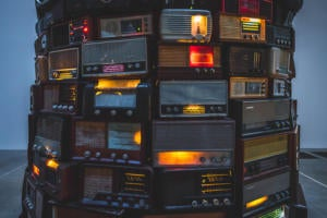 tower of retro radios ryan stefan cc0 via unsplash 1200x800