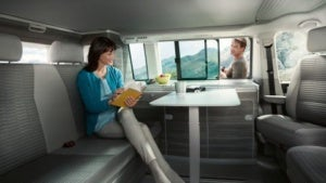 volkswagen t6 table