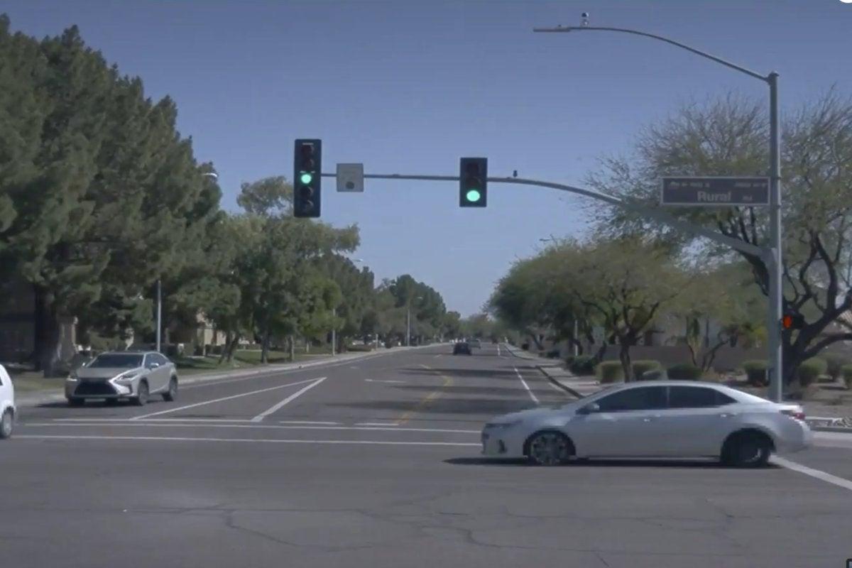 waymo self driving car google io 2018 red light running car2