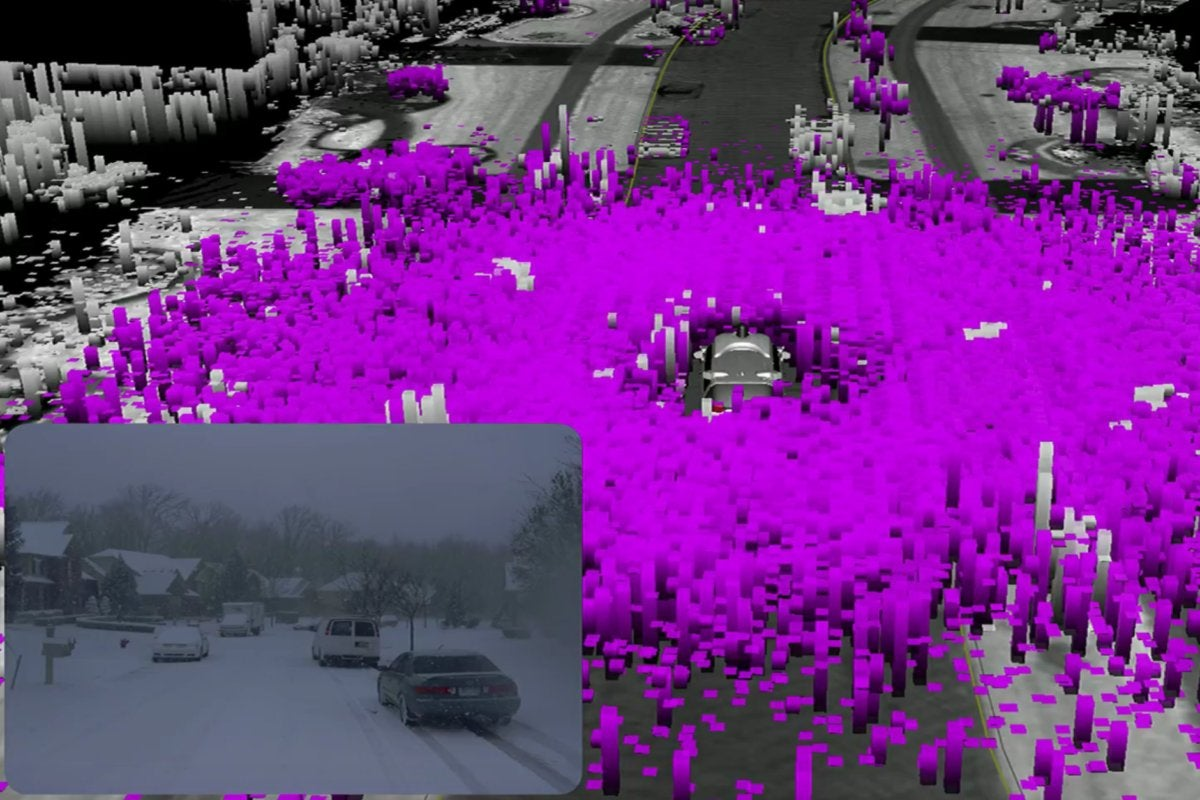 waymo self driving car google io 2018 weather snow data noise2