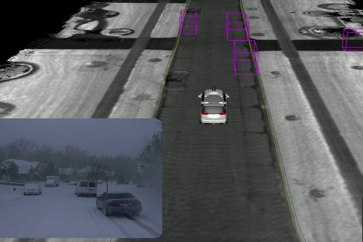 waymo self driving car google io 2018 weather snow data noise removed2