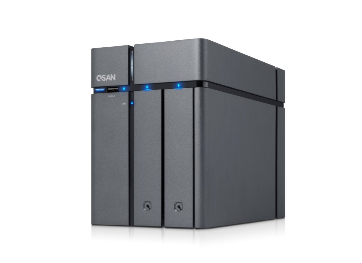 QSAN XCube XN3002T NAS review: Classy, clean, and fast—but