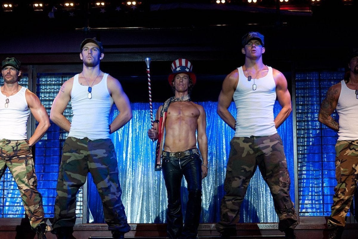 12 Magic Mike