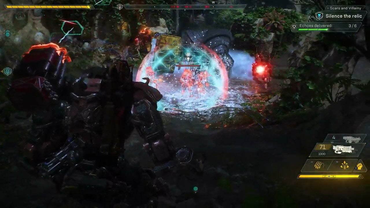 anthem video game gameplay