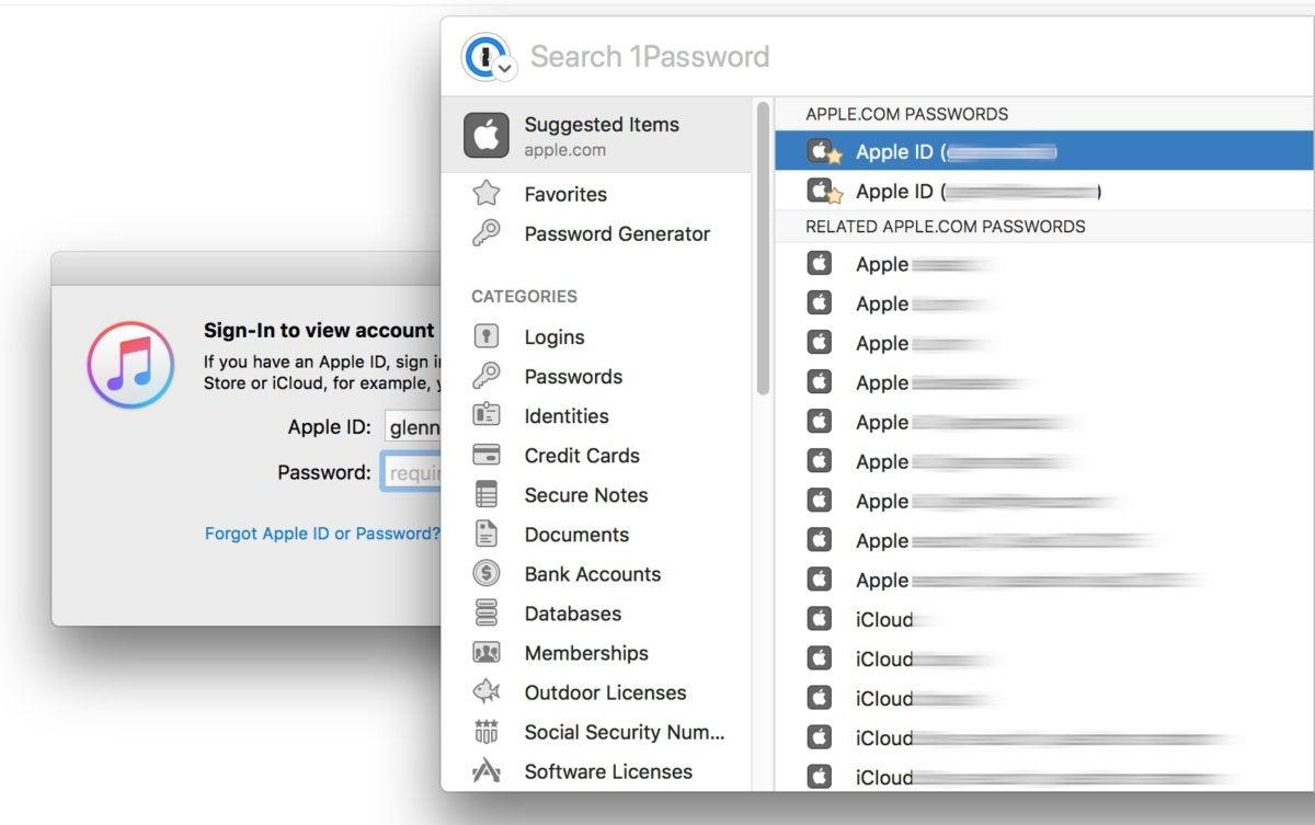 1password7macos app specific display