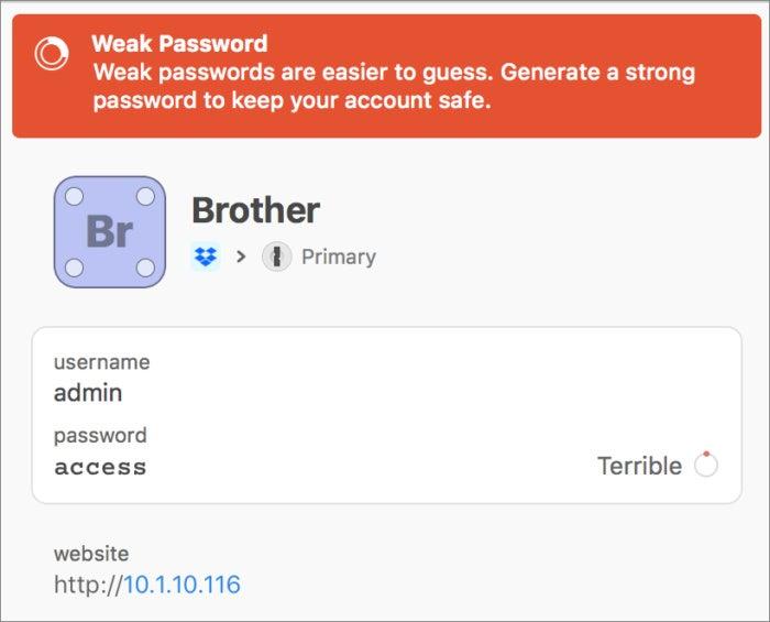 1password7macos terrible password