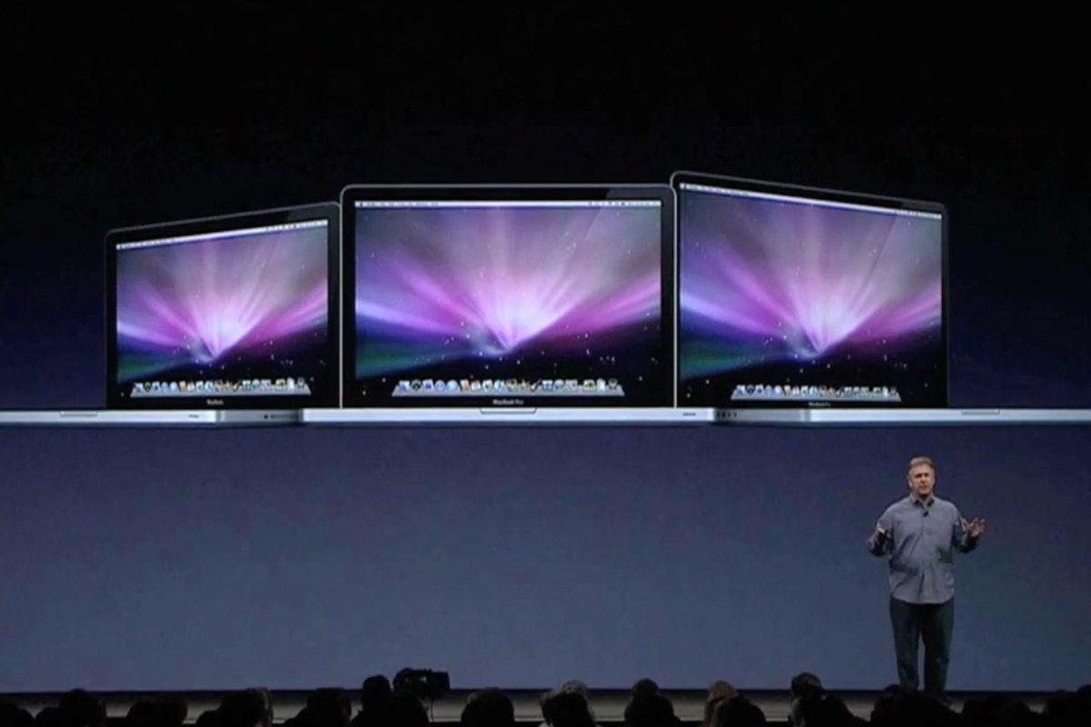 2009 apple keynote macbook