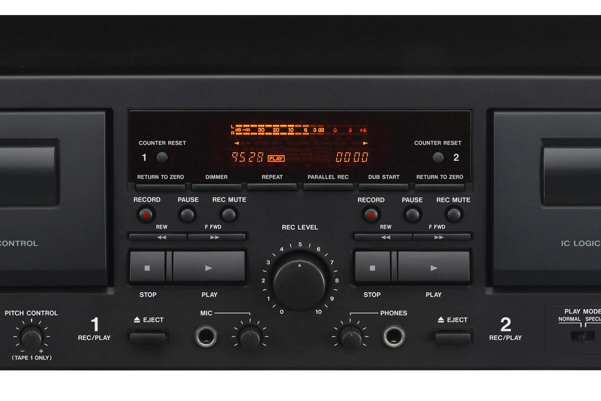 Tascam 202mkvii Dual Cassette Deck Review A High Quality