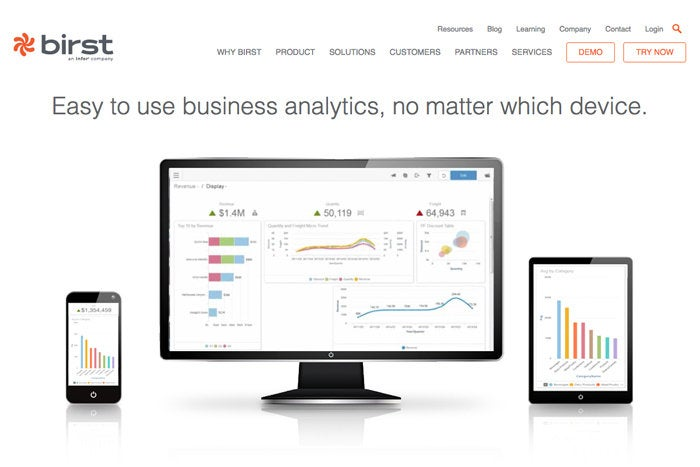 2 birst visual analytics