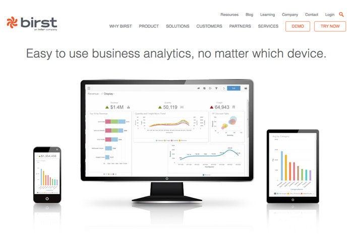 2 birst visual analytics