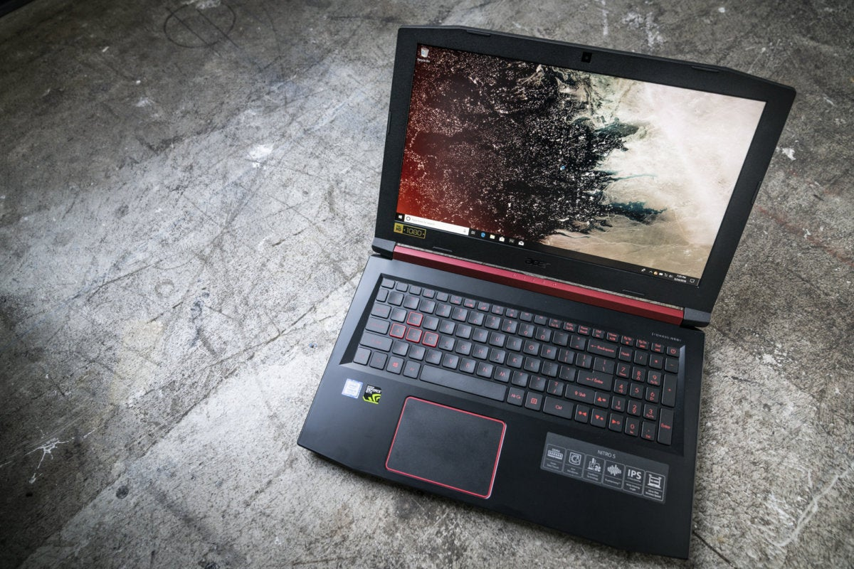 Acer Nitro 5 review: A Coffee Lake-flavored gaming laptop