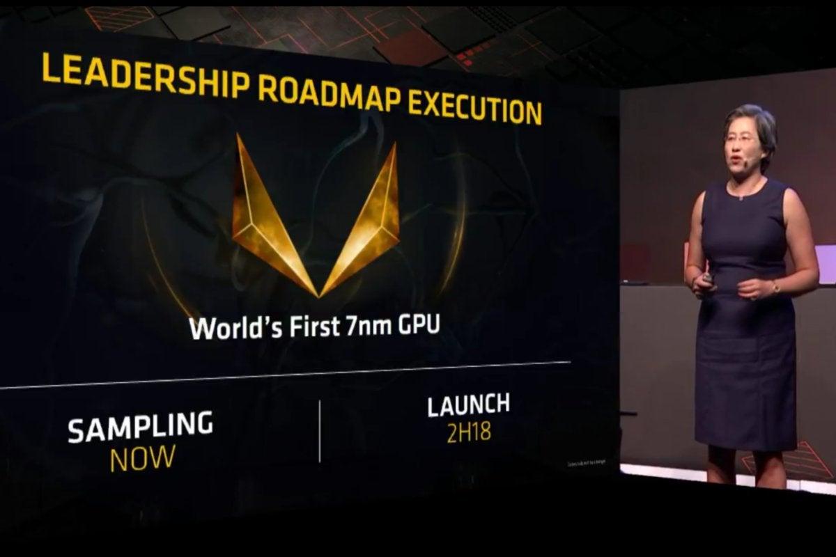 amd 7nm gpu leadership roadmap execution computex 2018