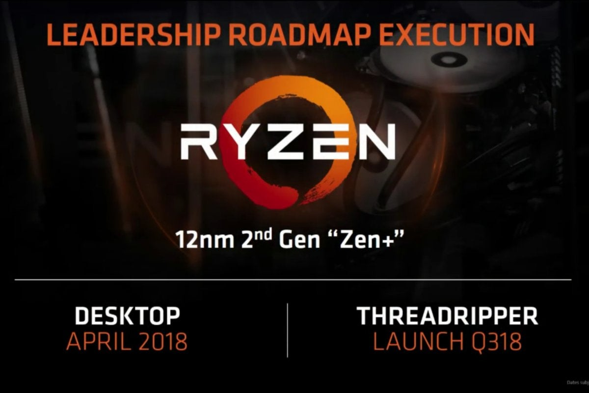 amd ryzen leadership roadmap execution computex 2018