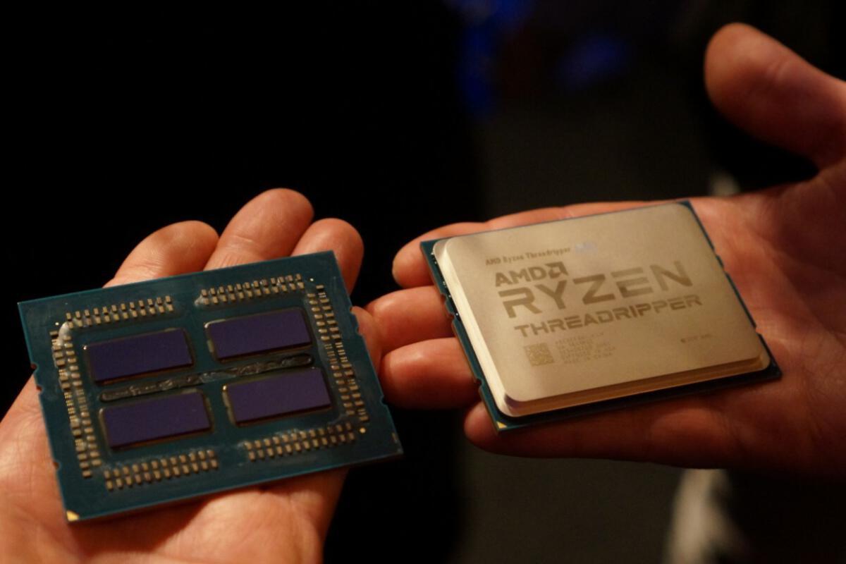 amd ryzen threadripper 2nd gen computex 2018