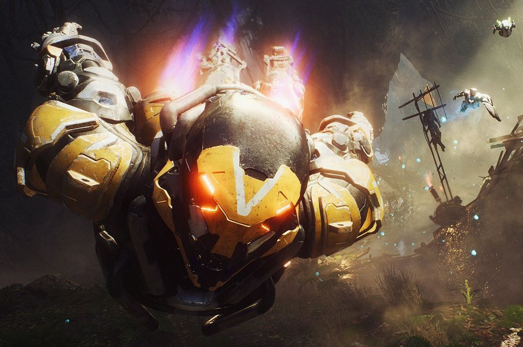 Anthem plays even smoother than Destiny, but BioWare's story will