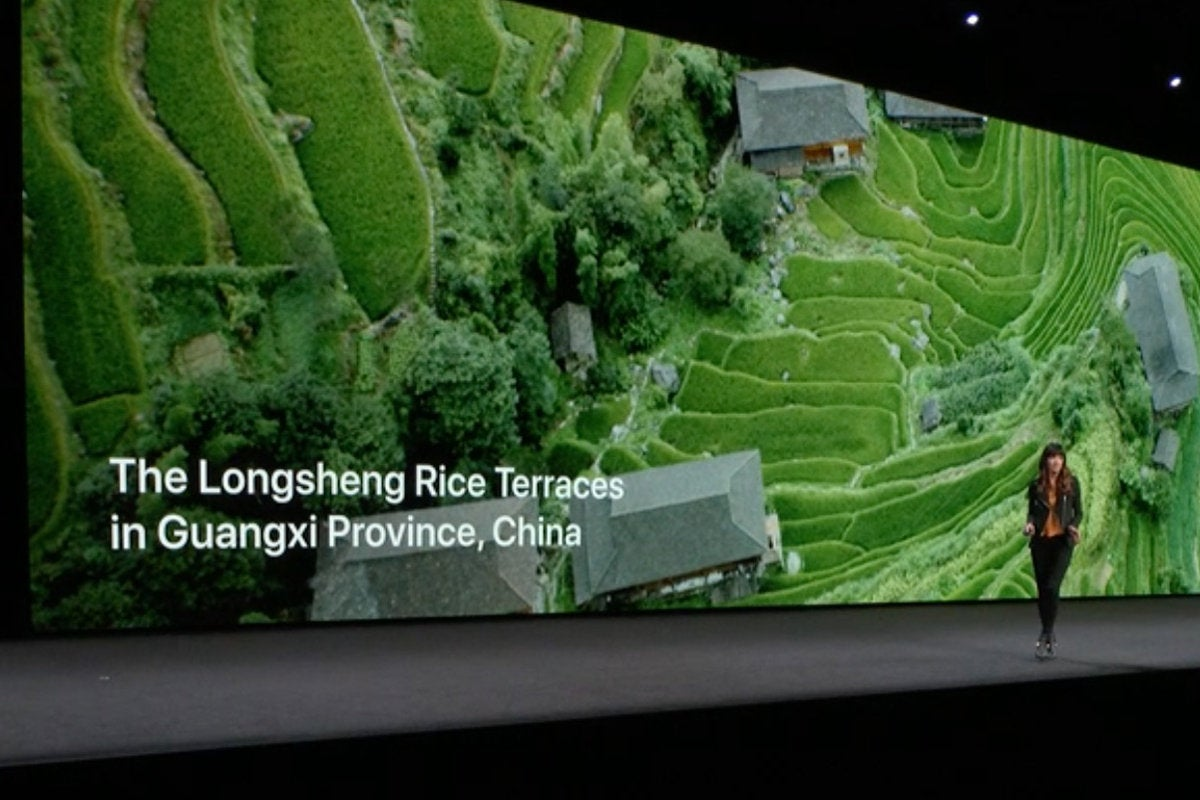 apple tv aerial screensaver info