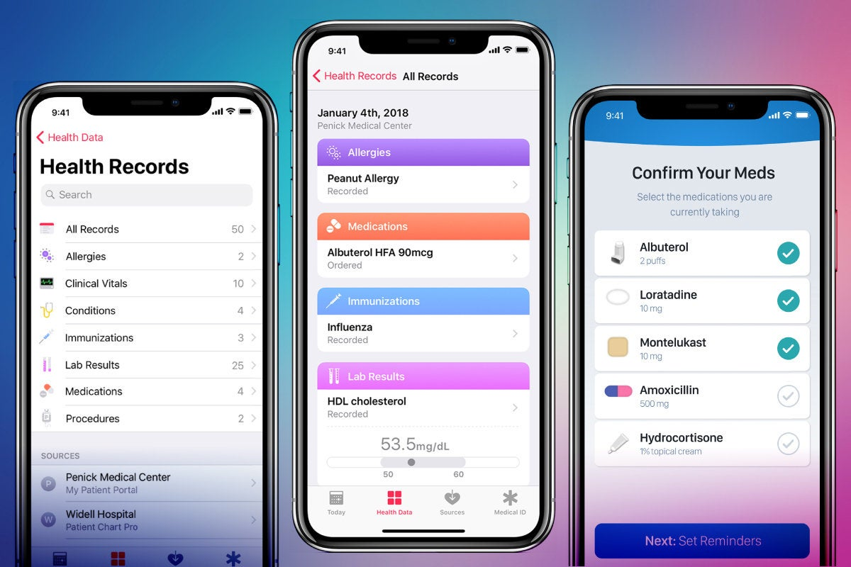 Apple - iOS 12 - Health Records
