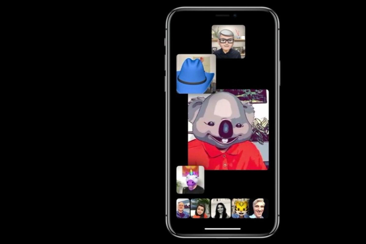 apple wwdc 2018 ios12 facetime groups