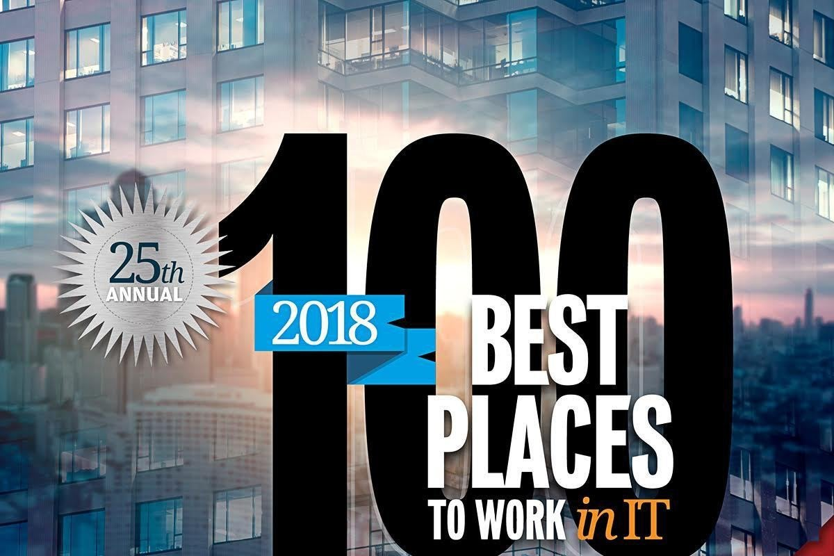 Computerworld - Best Places to Work in IT 2018