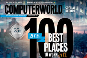 Best Places to Work in IT 2018 cover