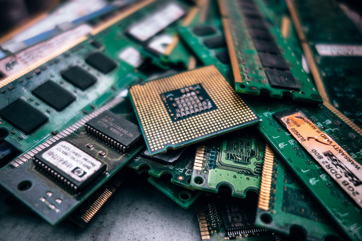 Softening chip market hit harder by trade wars