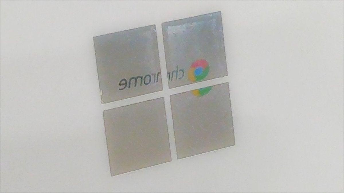 chrome windows reflection 2