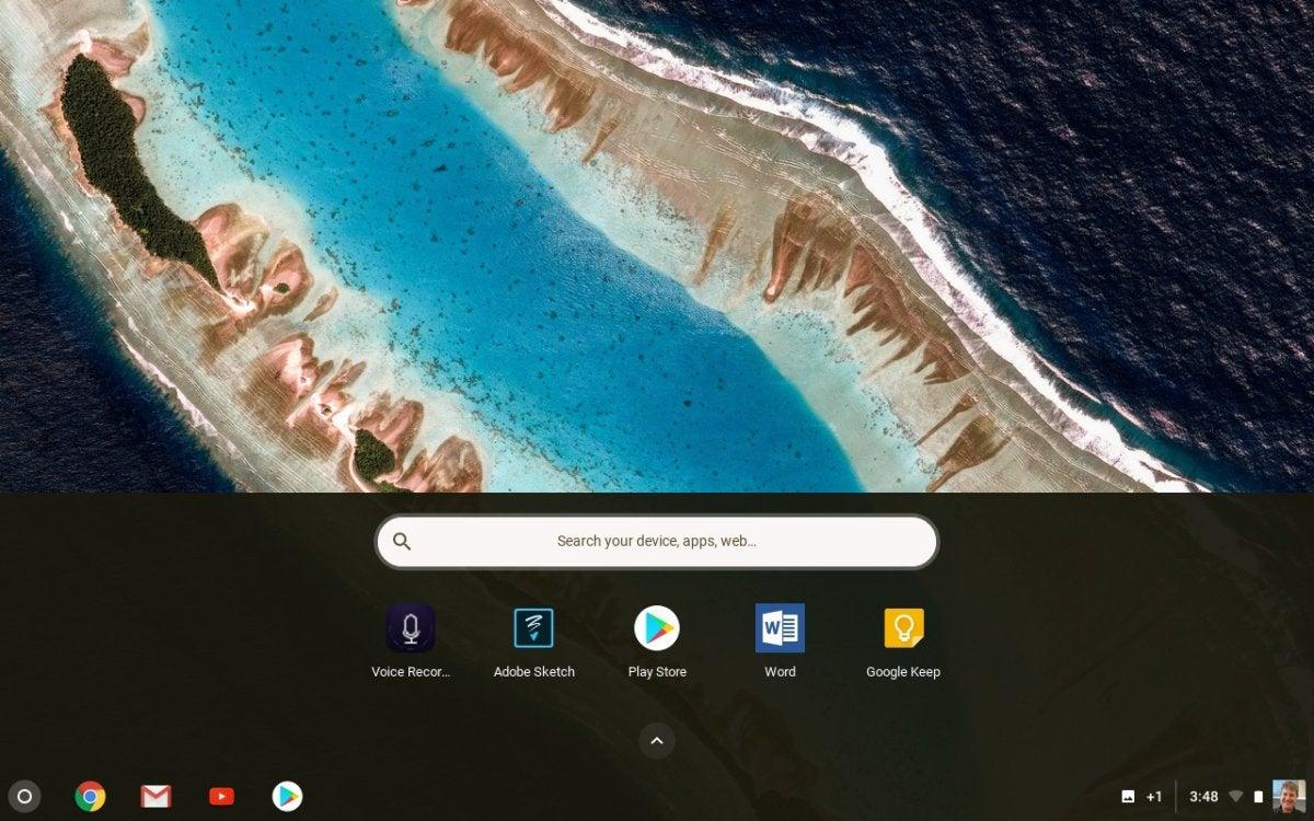 chromebook desktop