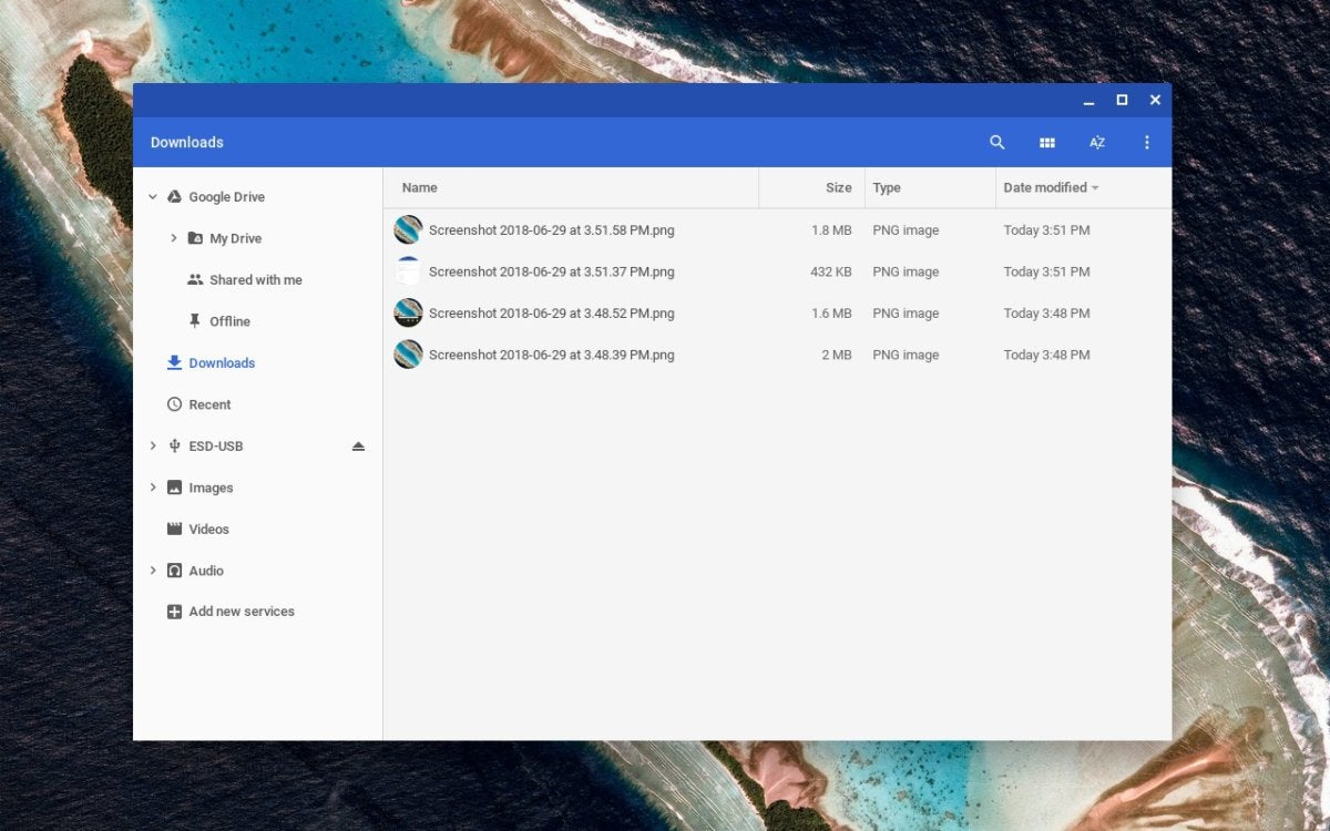 chromebook file explorer