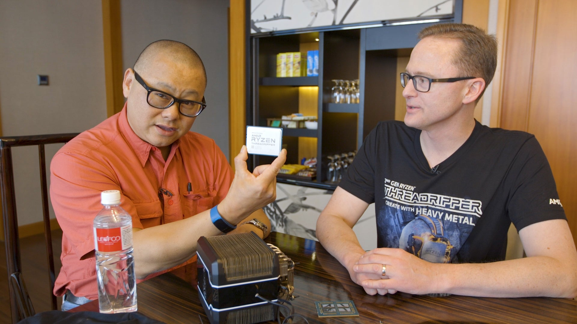 Gordon Mah Ung and Jim Anderson discuss Threadripper Gen 2