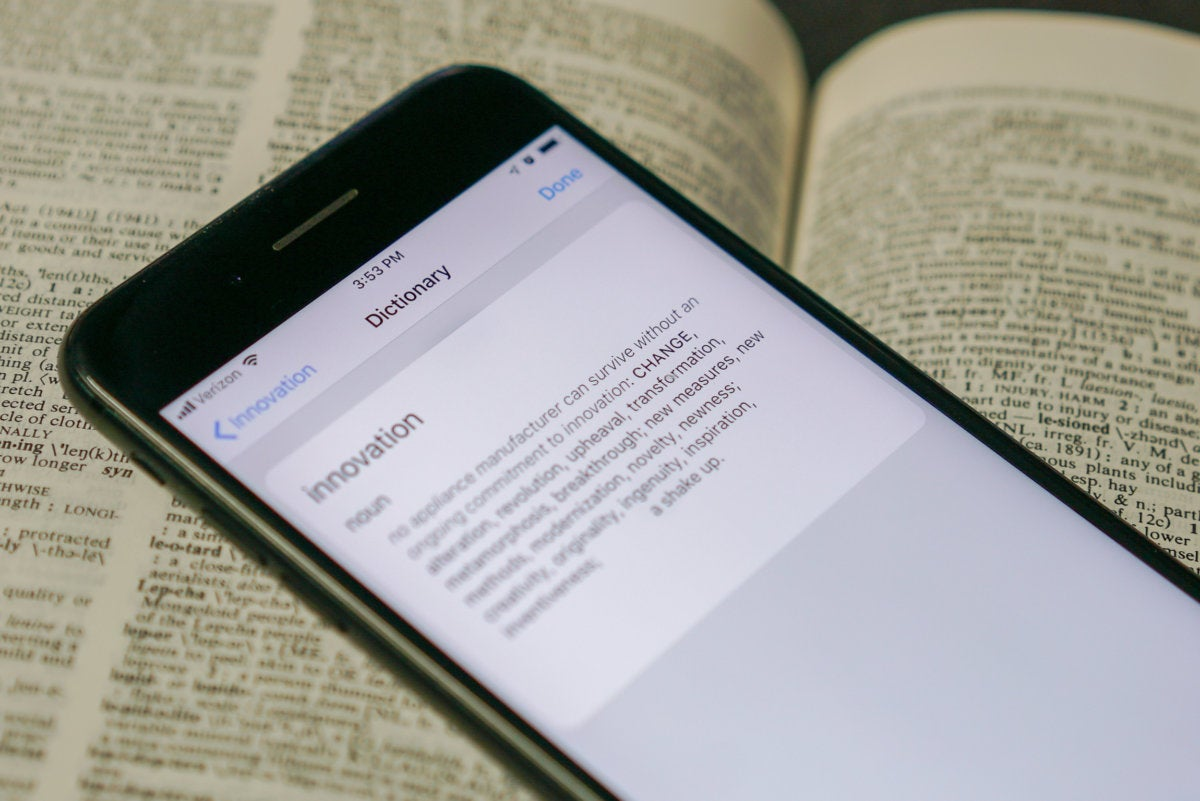 iOS 12: How to turn on and use the thesaurus | Macworld