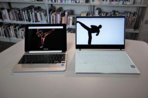 Chromebook vs Windows PC primary better light