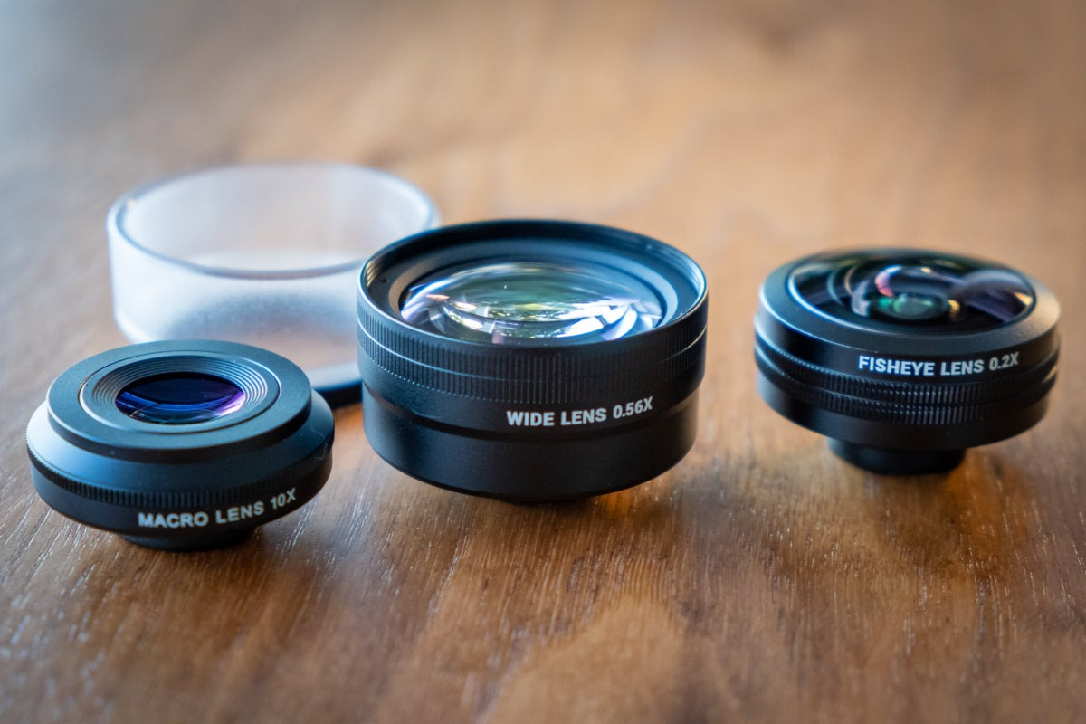 Sandmarc iPhone X Lenses