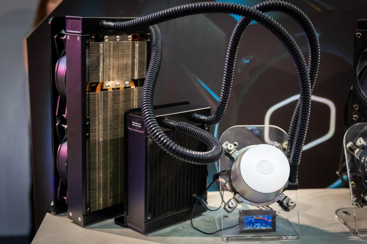 Cooler Master's thermoelectric closed-loop cooler is like a