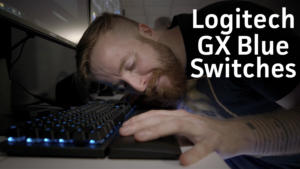 Logitech GX Blue switches