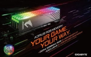 gigabyte aorus memory