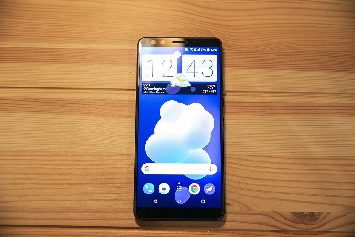htc u12 screen
