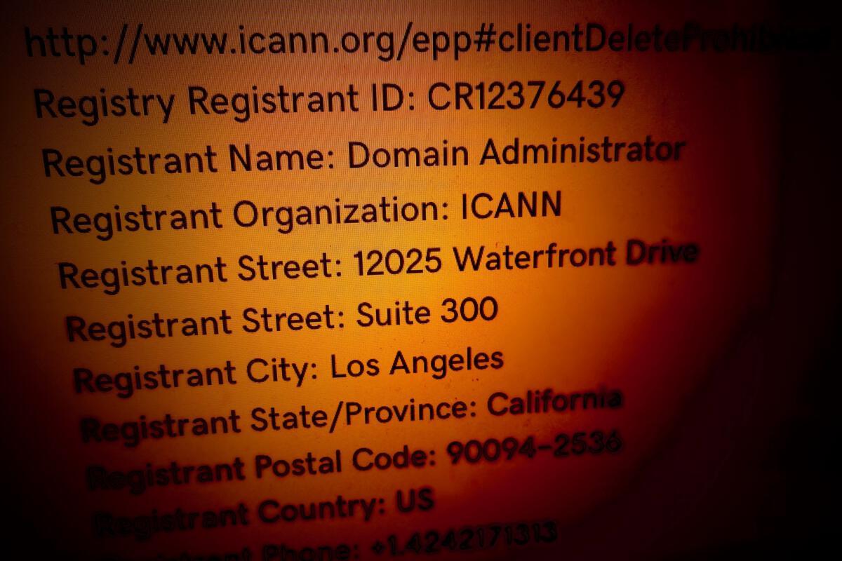 ICANN's Whois service faces GDPR compliance challenges | CIO