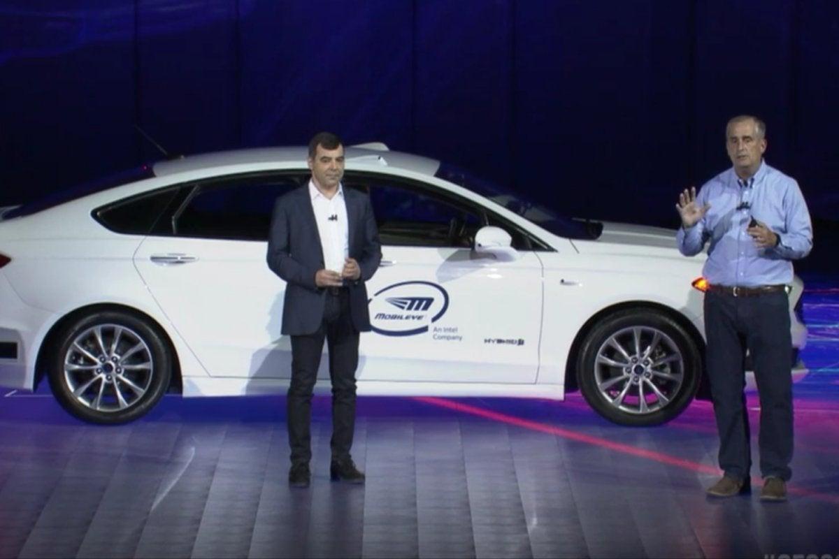 intel brian krzanich ces 2018 mobileye autonomous driving