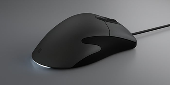 Microsoft classic intellimouse angle